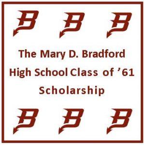 Bradford HS Class of 61 Scholarship 2018 application