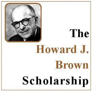 Howard J Brown Scholarship