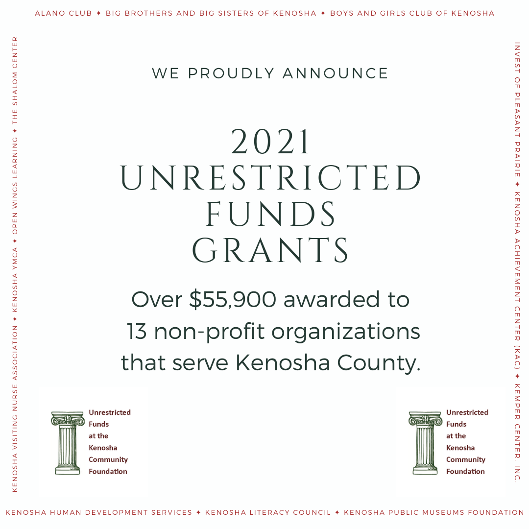 2021 Unrestricted Funds Grant Awards