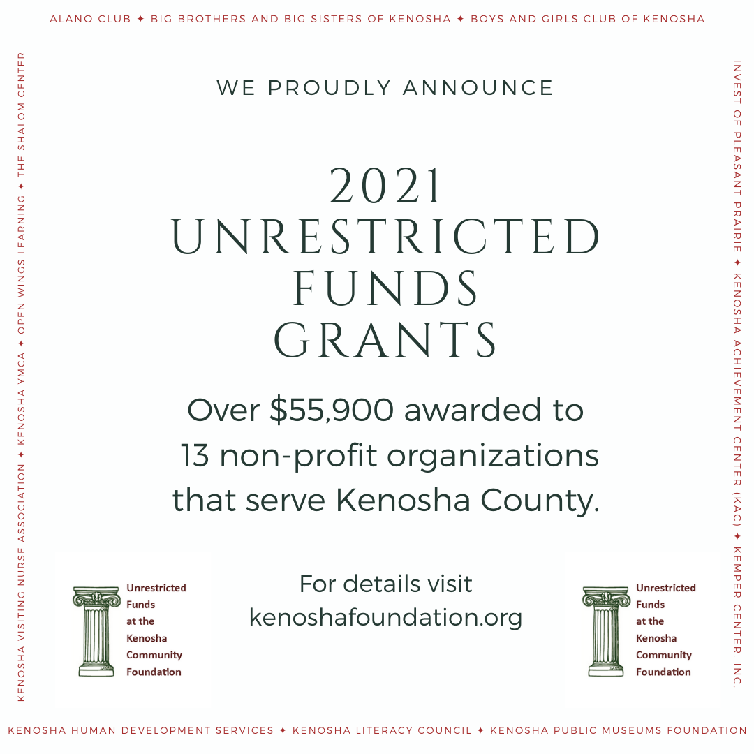 2021 Unrestricted Funds Grants